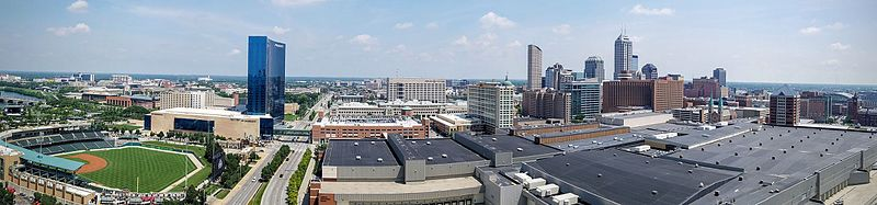 File:Panorama of downtown Indianapolis skyline, July 2016.jpg