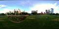 Panoramic View of Discover Green Park in Houston.JPG