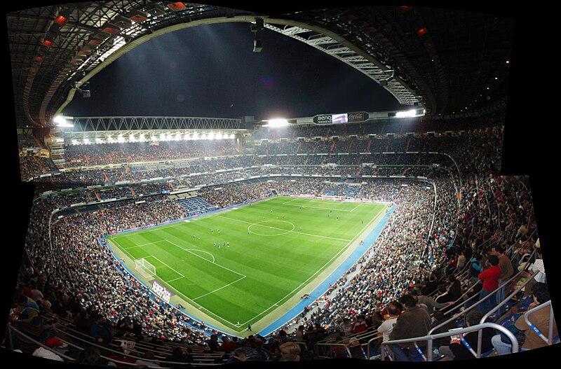 Fichier:Panoramica 002 - Estadio Santiago Bernabeu.jpg