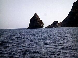 Faraglione Tracino, Pantelleria, Italy