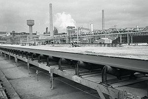 Conveyor belt - Taranto, Paolo Monti, 1964
