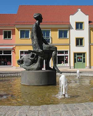 Parchim - Fountain