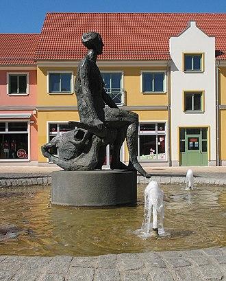 Parchim - Fountain