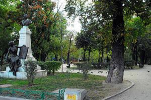 Grădina Icoanei - Image: Parcul Gradina Icoanei statuie