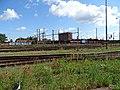 Pardubice hlavní nádraží, od ulice K Vápence (01).jpg