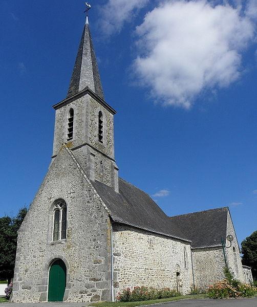 Église Saint-Cénéry de Parigné-sur-Braye (53).