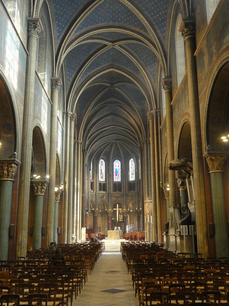 Bon Lundi 800px-Paris_%2875%29%2C_abbaye_Saint-Germain-des-Pr%C3%A8s%2C_nef%2C_vue_vers_l%27est_1