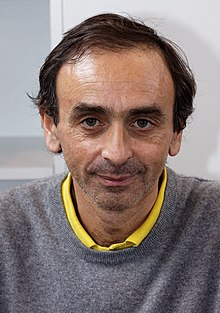 Zemmour at the 2012 Paris Book Fair