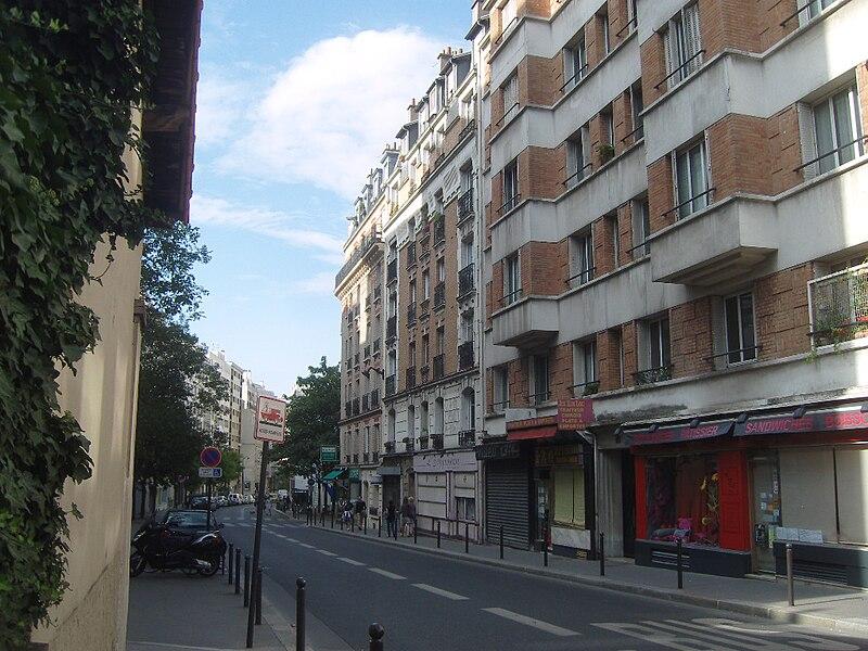 Fichier:Paris 13e et 14e - rue de l'Amiral-Mouchez 1.JPG