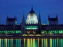 Parlamento di budapest wikipedia for Le due camere del parlamento