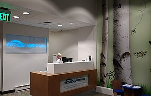 Partners HealthCare - A Partners Urgent Care facility in Boston, Massachusetts.