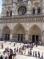 Parvis Notre Dame 16, 850th anniversary of Notre-Dame.jpg