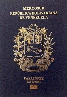 Passeport Venezuelien Wikipedia