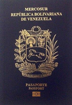Venezuelan nationality law - Venezuelan passport