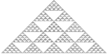 Pascal triangle modulo 5.png