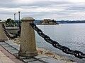 Paseo marítimo, Castelo de Santo Antón, A Coruña, Galiza (Spain).jpg