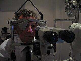 Ocular tonometry procedure to determine intra ocular pressure