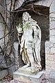 Pattensen, Marienburg castle, statue on the courtyard.JPG