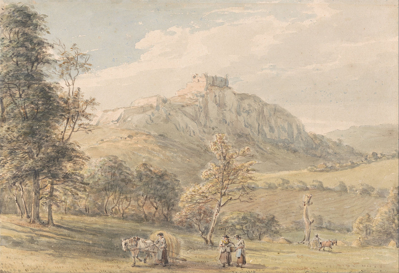 Paul Sandby - Carreg Cennan Castle - Google Art Project.jpg