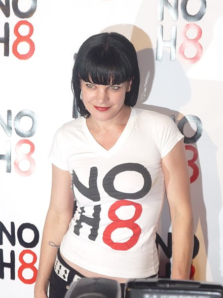 was pauley perrette really in playboy