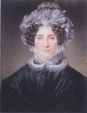 Dominique-Vincent Ramel-Nogaret - Ange-Pauline-Charlotte Panckoucke in 1820, by Jacques-Louis David