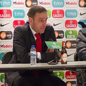 Paulo Bento - Bento at a press conference in 2011.