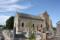 Pauvres (08 Ardennes) - l' Église Saint Timothée - Photo Francis Neuvens lesardennesvuesdusol.fotoloft.fr.JPG