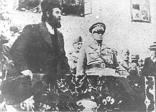 serbischer Militär, Oberstleutnant, Wojewode, Tschetnik