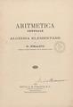 Peano - Aritmetica generale e algebra elementare, 1902 - 3935060.tif