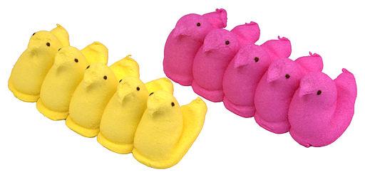 Peeps-Yellow-Pink
