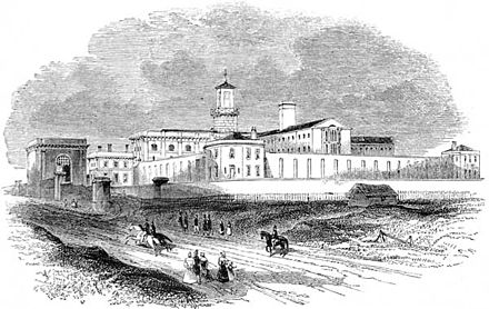 Pentonville Prison designed by Capt Joshua Jebb RE - Royal Engineers