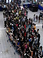 People gather at the atrium of SM City Clark for a mall event (2).jpg