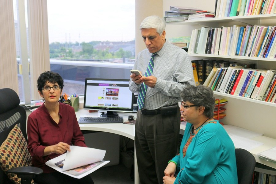 Persian Newspaper Shahrvand in Toronto Editorial Team 2014