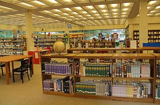 Roxboro, North Carolina - Person County Public Library reading room