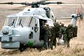 Personnel Board a Lynx Mk 8 Helicopter During a Training Exercise on Dartmoor MOD 45145821.jpg