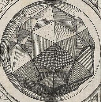 Tetrakis hexahedron - Image: Perspectiva Corporum Regularium 15d