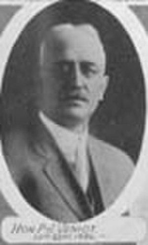 Peter Veniot - Peter J. Veniot as Postmaster General
