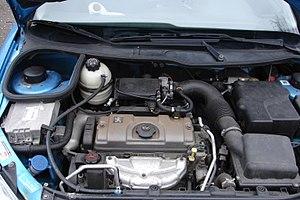 PSA TU engine - Image: Peugeot 206 1999 Hatchback 1.1 TU1JP(HFZ) 10