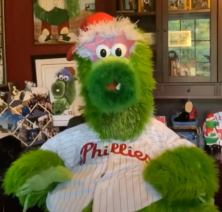 Phillie Phanatic Official mascot for the Philadelphia Phillies of Major League Baseball