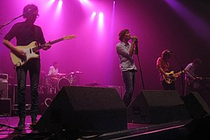 Phoenix (band) - Phoenix performing live at The Wiltern, Los Angeles in 2009