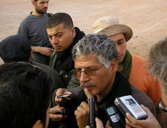 Sahrawi National Council - Image: Photo of Abdelkader Taleb Omar, Prime Minister of the Sahrawi Republic