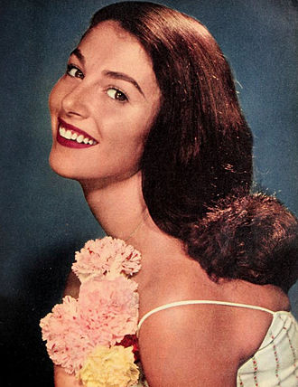 Pier Angeli - pictured in 1957