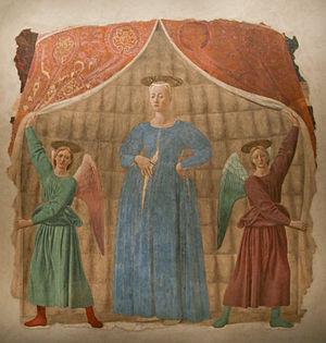 Madonna del Parto - Image: Piero Madonna del parto