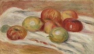 Apples and Lemons on a Cloth (Pommes et citrons sur une nappe)