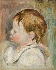 Baby's Head (Tête d'enfant, profil à gauche)