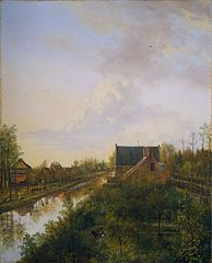 The canal at 's-Graveland