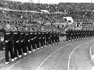 1952 FIVB Volleyball Men's World Championship - Russia national volleyball teams in 1952 FIVB World Championship
