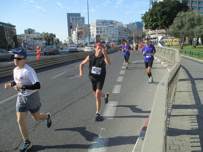 מרתון תל אביב 2015