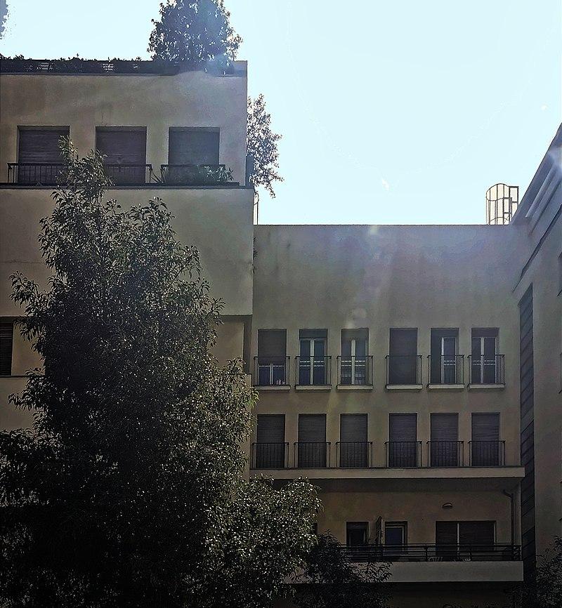 הבית ברחוב יהודה הלוי 14 בתל אביב