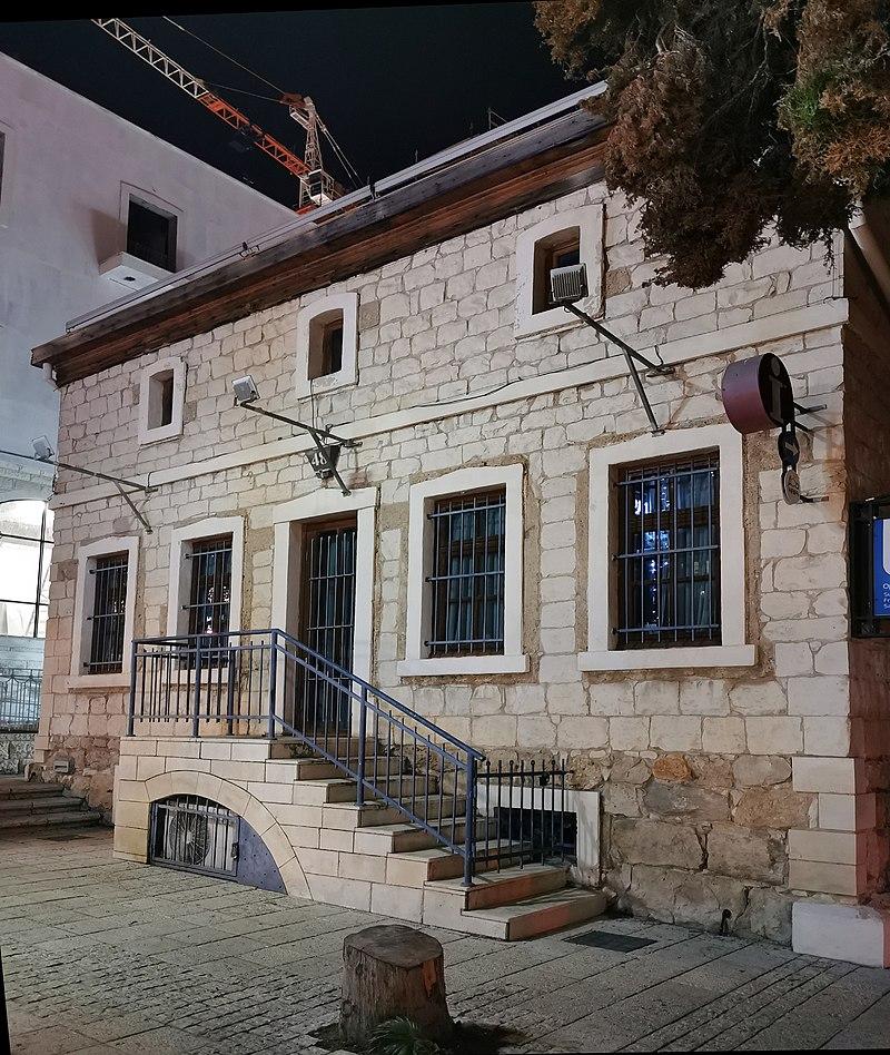 מבנה במושבה הגרמנית בחיפה